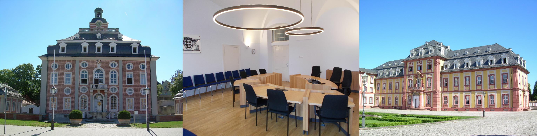 Außenansichten und Sitzungssaal